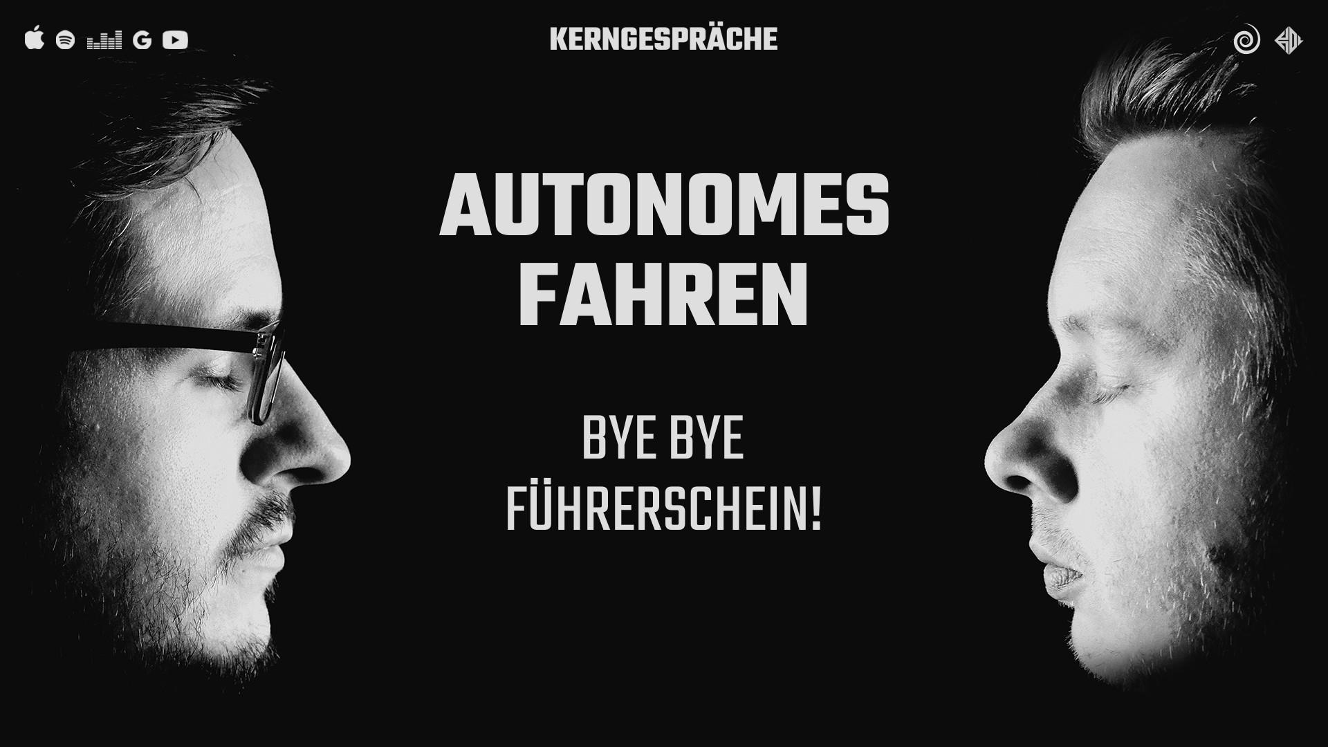 Autonomes Fahren: Bye Bye Führerschein!